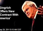 Main thumb newt gingrich releases new contract with america. 9 23 11