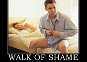 Main thumb walk of shame leaving after a one night stand demotivational poster 1273339894