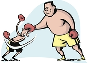 Main thumb fighting 20above 20your 20weight 20class 20art