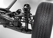 Main thumb rearsuspension